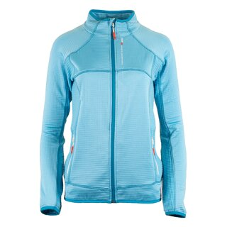 LADIES WAFFLE FLEECE JACKET